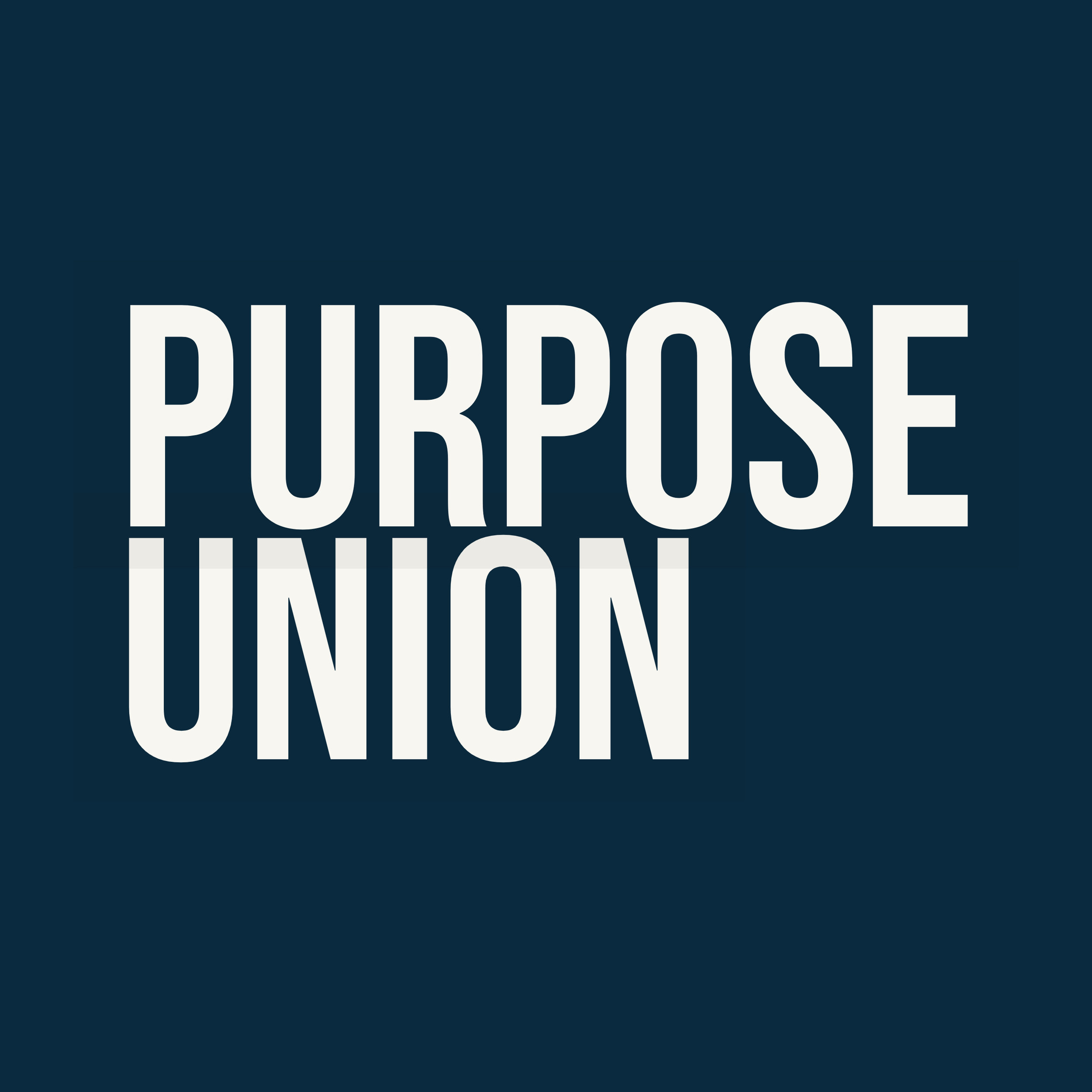 Purpose Union     Social Purpose Communications   Purpose Union is a specialist social purpose agency that works with clients to develop compelling arguments, build powerful coalitions, and devise winning campaigns to change the world for good.