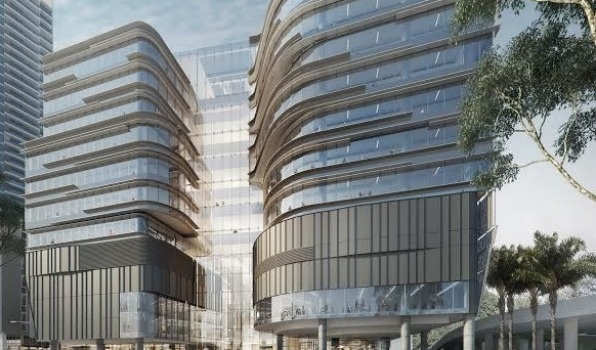 Darling Square, Sydney - System installation throughout for enhanced productivity, privacy and acousitc comfort for Commonwealth Bank