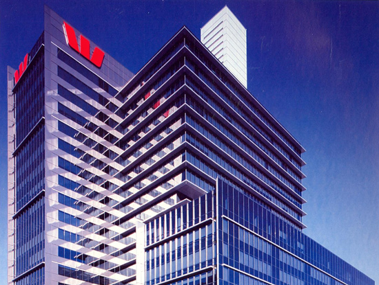 275 Kent Street Sydney - Installation of fully adaptive sound conditioning for Westpac Bank through entire tower