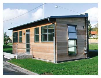 Kvillebäcken - Byggnadsår 2006Består av två fintvättstugorBeställare: Göteborgs stads Bostads AB