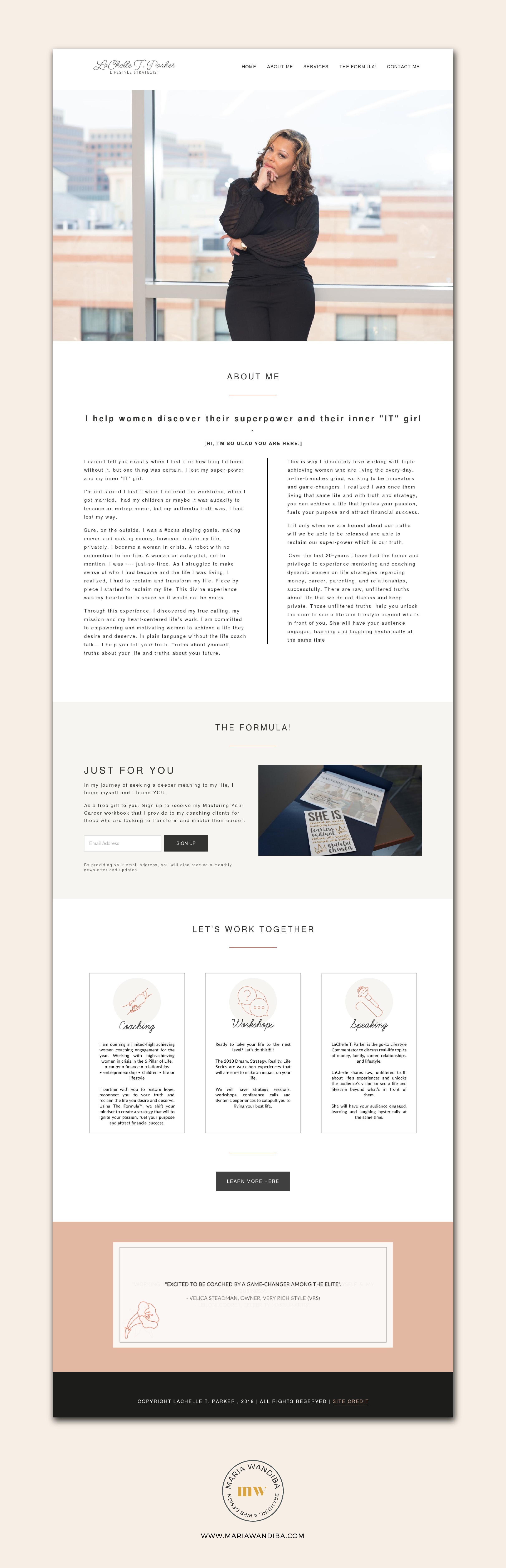 LaChelle Parker Website.png