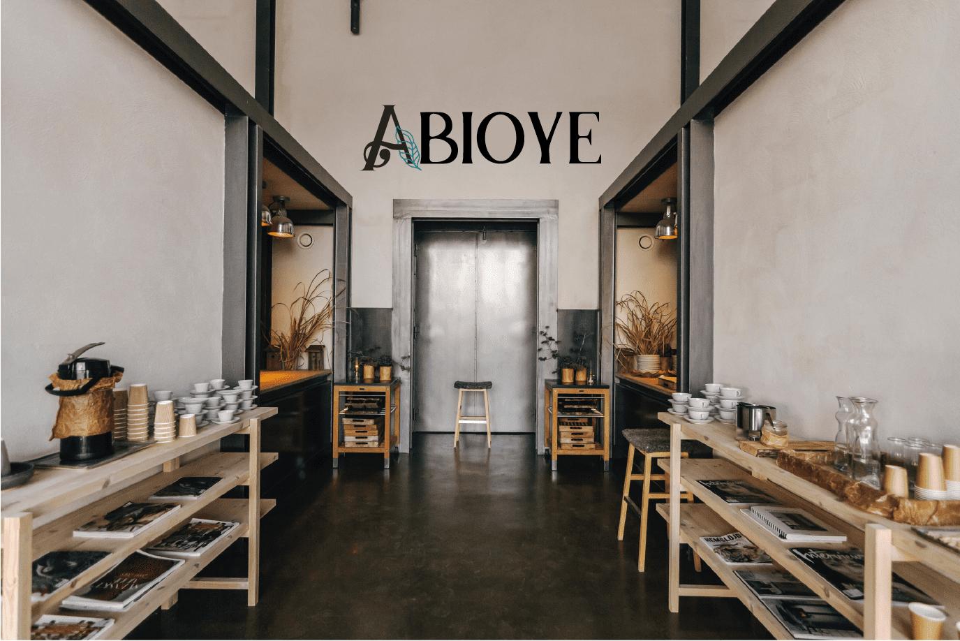 Abioye branding by Maria Wandiba