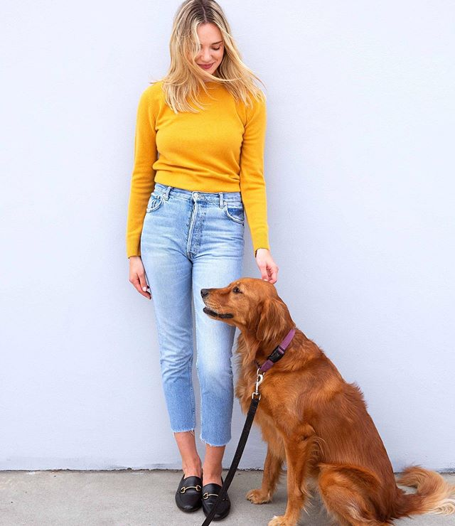 Summer days hangin with one of our favourites 🐶💛 #maxlainer  #summerstyle #popofcolor #summerbrights #chillysummernights #styleinspo #flatlay #buylessbuybetter #instadaily #casualcool #cashmeresweater #everdayuniform #cozy #cashmere #ootd #wiwt #elevatedstyle #scottishcashmere #itsadogslife #allaboutcashmere #stylegram #styleperfection #everydaystyle #furryfriend #outfitdetails #dailyoutfit #styleideas #fashioninspo #dogswithstyle #instadog