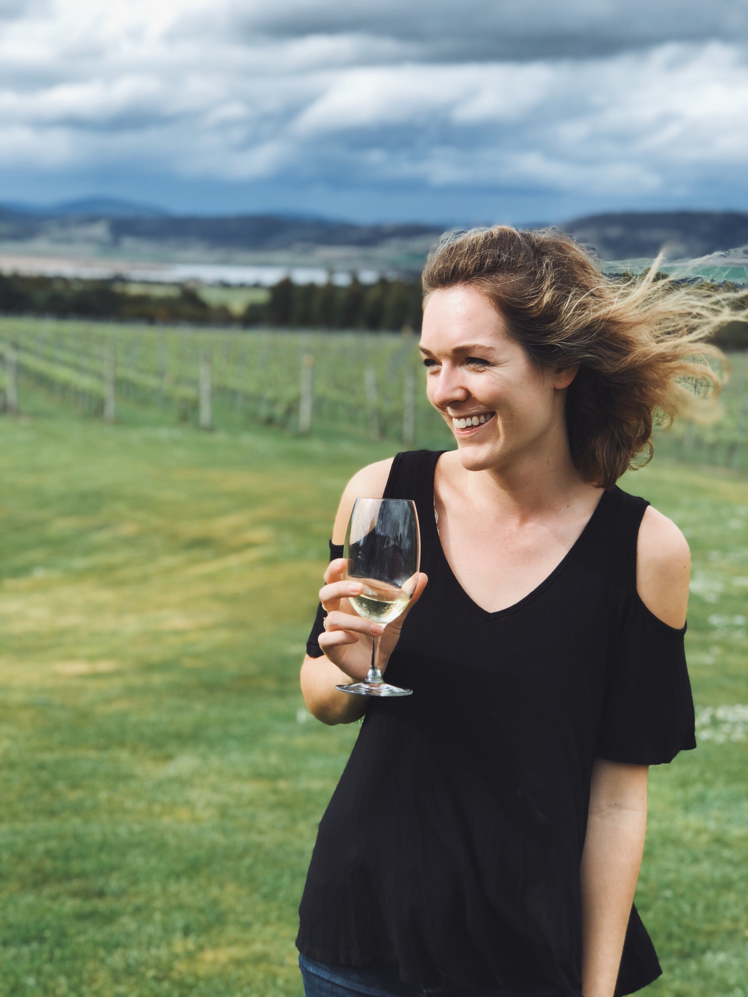 - There are a bunch of wineries between Hobart and the airport, so on our way out of town, we stopped at Frogmore Creek Winery. They had a long tasting list and we didn't have much time! Definitely recommend a stop there. How gorgeous are those oysters?!