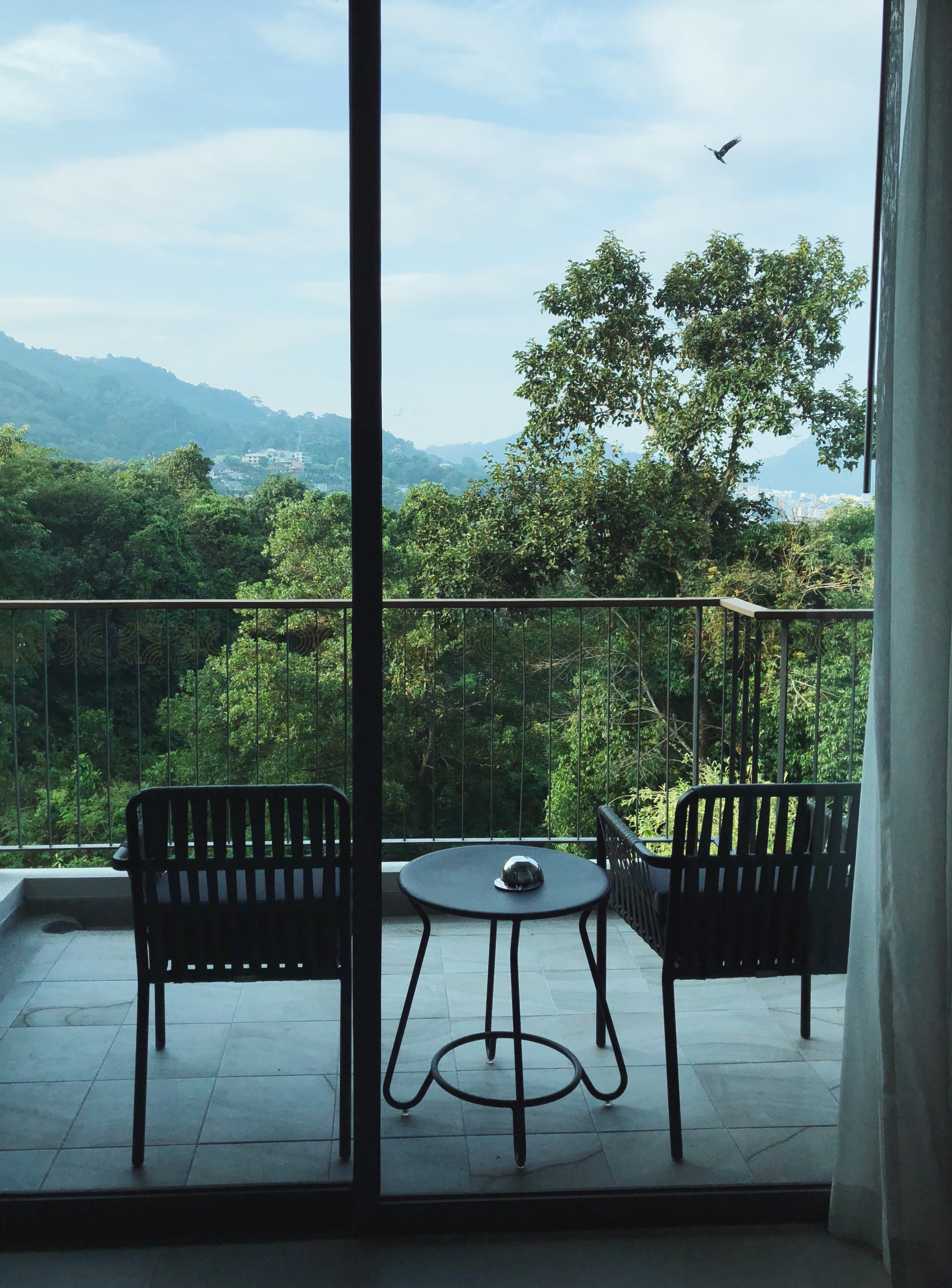 - I chose a room facing the jungle, and after debating really treating myself with a bathtub on the balcony, I chose a bathtub inside, because Phuket is hot and humid! That was a great decision.