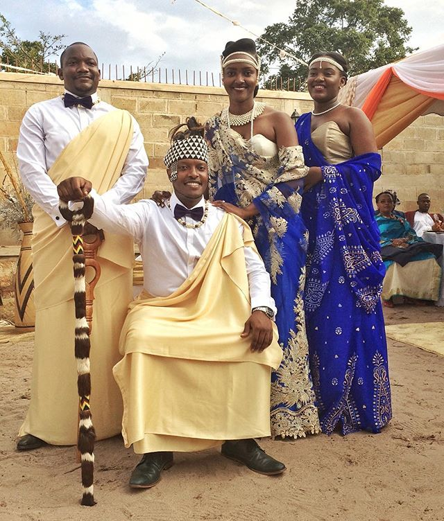 Today we closed the office in celebration of our beautiful colleague and bride, Joselyn. Congratulations!🌟❤️👰🏾#wedding #introduction #traditions #uganda #dwb #traditionalwedding #africa #bride