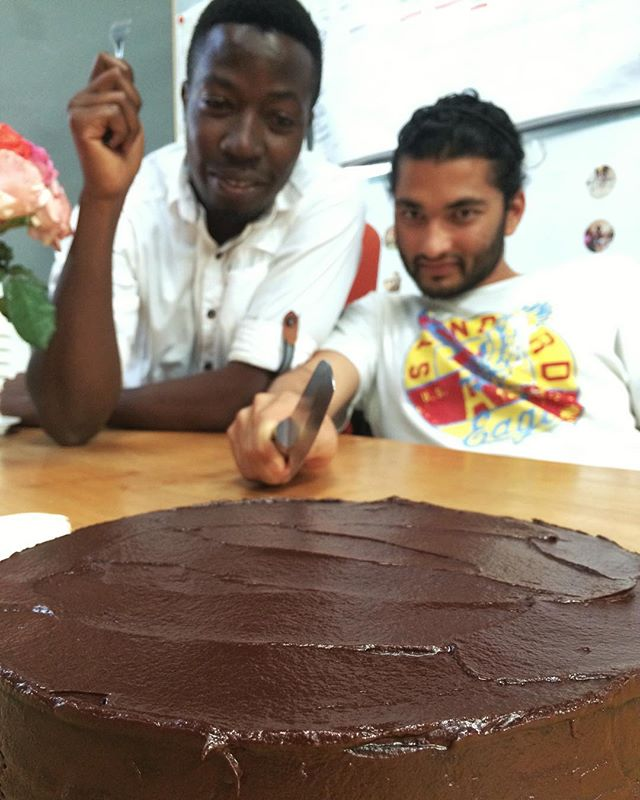 Birthday season means  cake for our DwB cake monsters.. 👹🎂 #dwb #secret #cake #monsters #uganda #chocolate