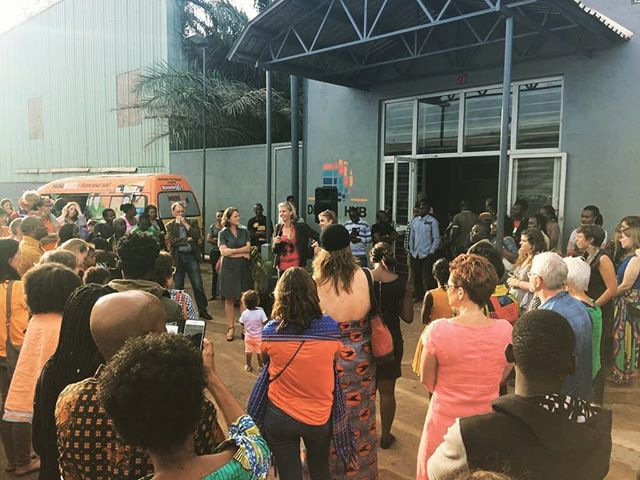 Thank you to everyone that came to see us at the grand opening last night at our new home sweet home, the Design Hub. A big thank you for making it all happen Jantien and Ineke! 🍾🍾🍾 #designwithoutborders  #designhub #kampala #eastafrica #africa #coworkingspace #celebration #open