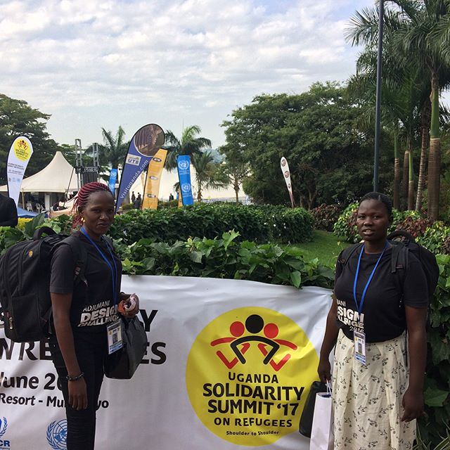 On June 22-23rd, we had the pleasure of exhibiting the Adjumani Design Challenge for UNDP at the Uganda Solidarity Summit on Refugees, together with two of the former participants. We also attended the Youth Side Event, where one of the participants, Marian Faith Asienzo, presented as youth ambassador. Thanks to all the people who visited our stand! @undp @unfpauganda @undpuganda @unfpa  #UGSolidarity #Solidarity4Youth #humancentereddesign #refugees