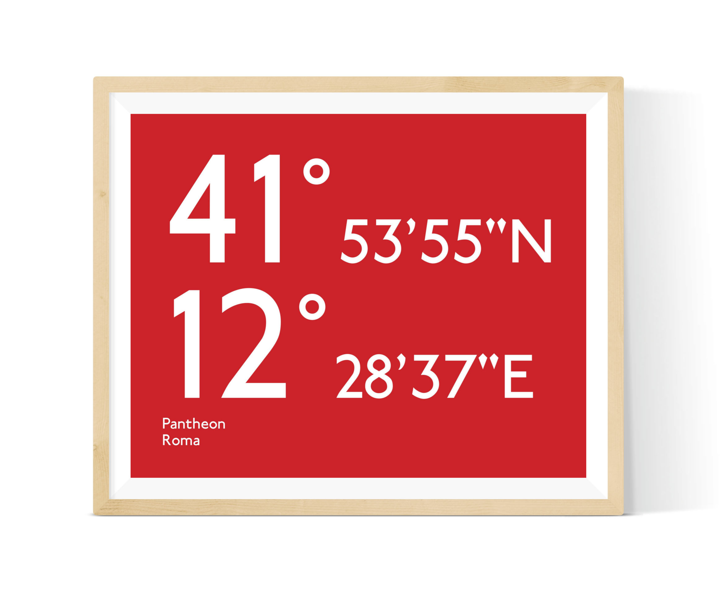 Coordinates - Capture your favourite destination in this eye-catching print which celebrates the exact coordinates of your chosen spot. We do all the hard work, you just need to enter your chosen location on our map or in the text box to generate the coordinates.
