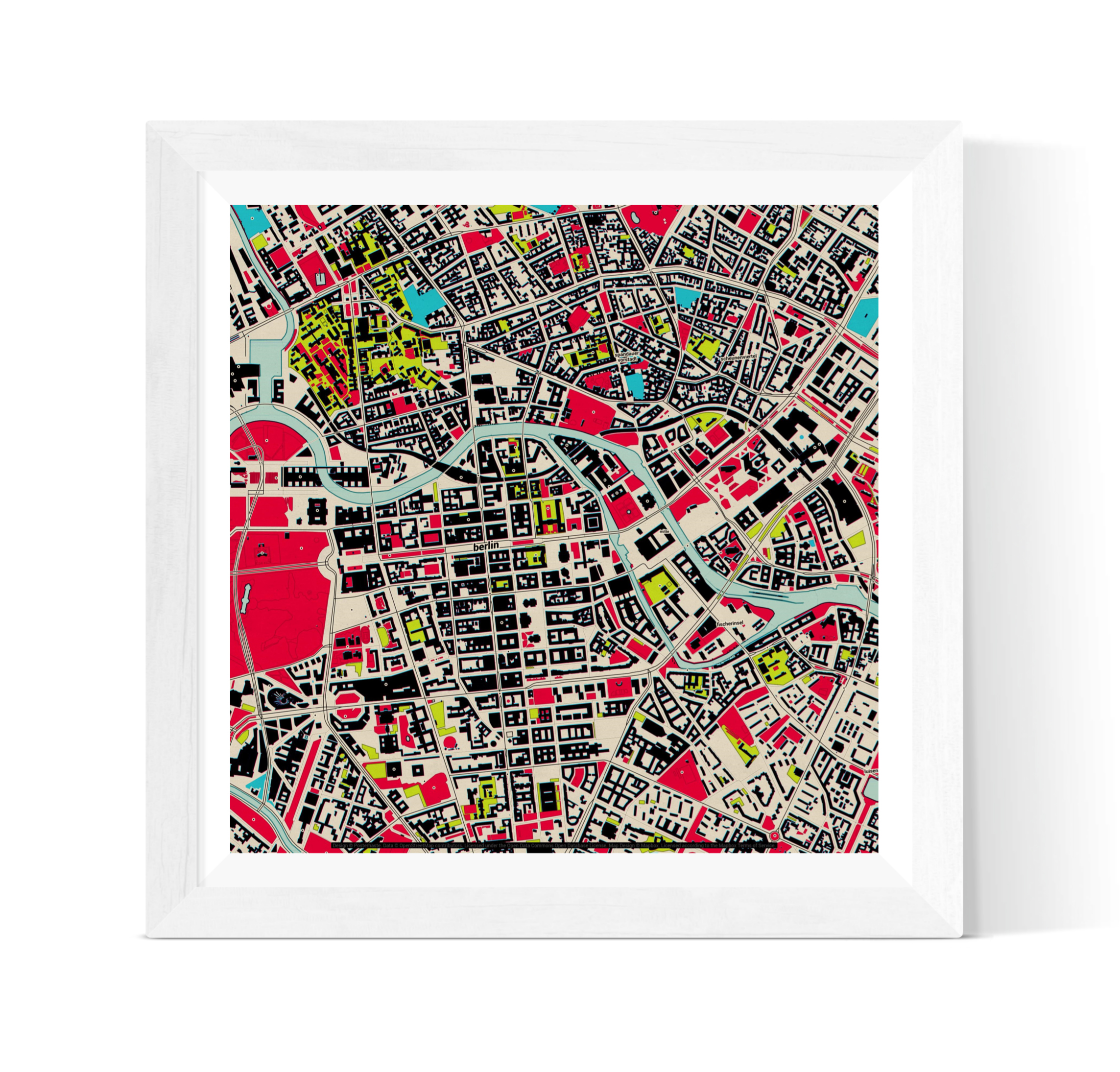 Map Print - Create the perfect piece of wall art to celebrate the location of your big summer holiday. Choose from a range of map styles for a perfectly personalised print.