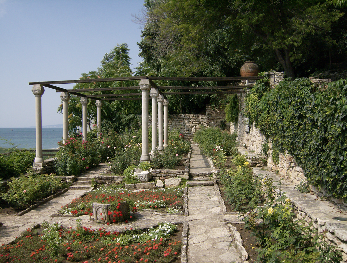 Balchik Palace and the adorning Botanical Gardens