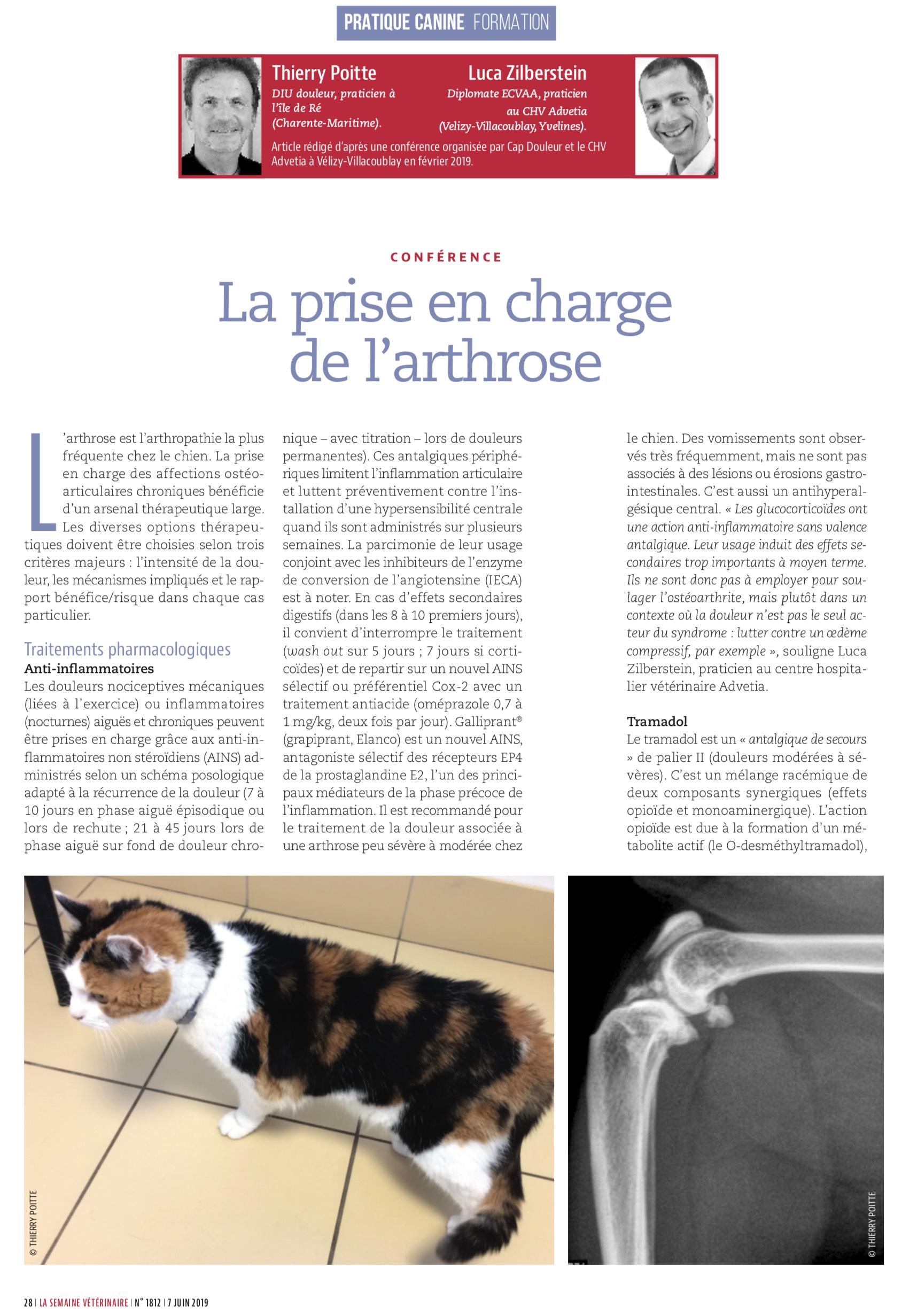 La Semaine Vétérinaire 8 Juin 2019