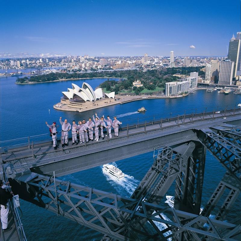 Sydney Harbour Bridge Climb, NSW Australia