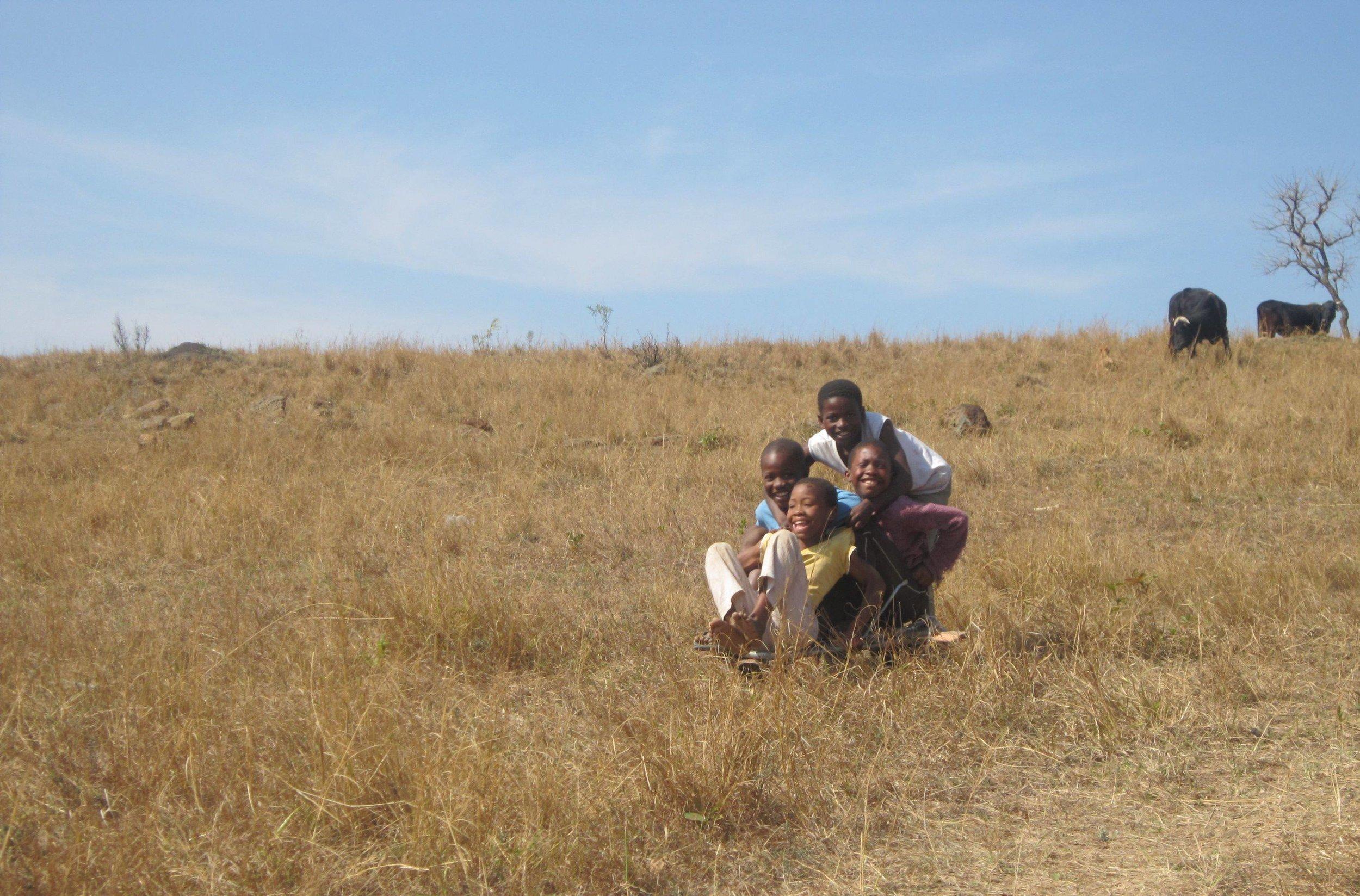 Rocket Kids children on savanna.jpg