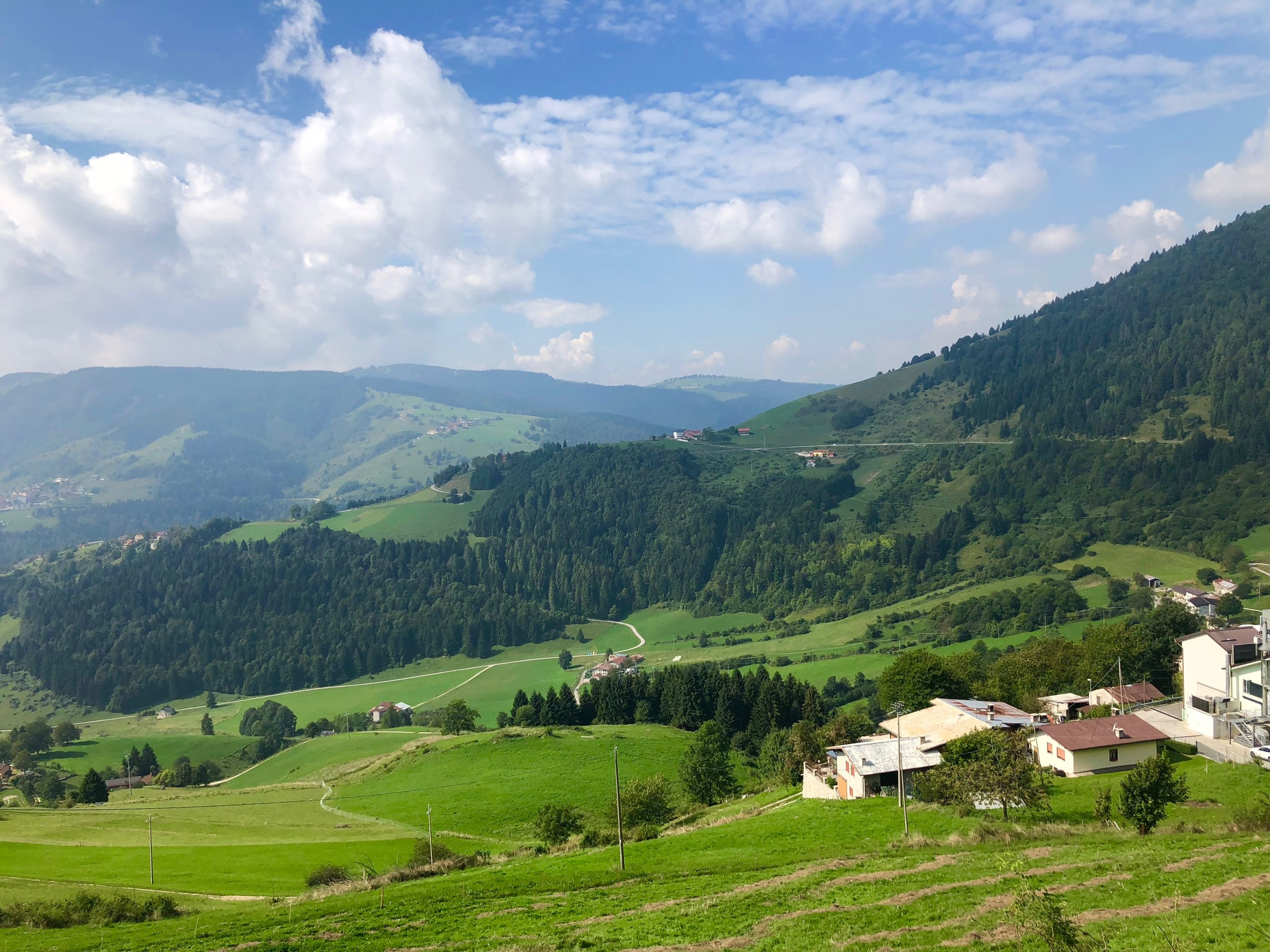 The Asiago plateau - endless roads and spectacular views