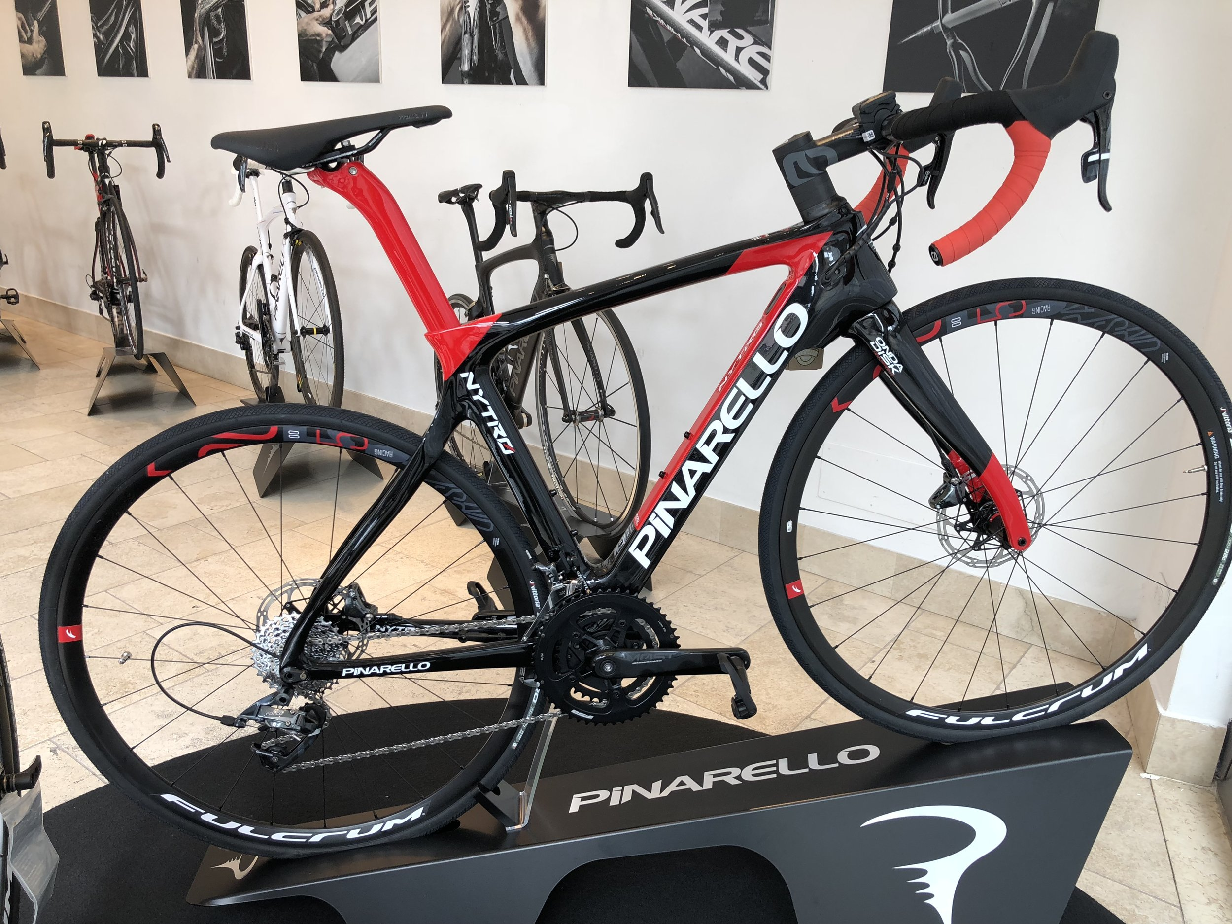 The new Pinarello pedal assisted bike
