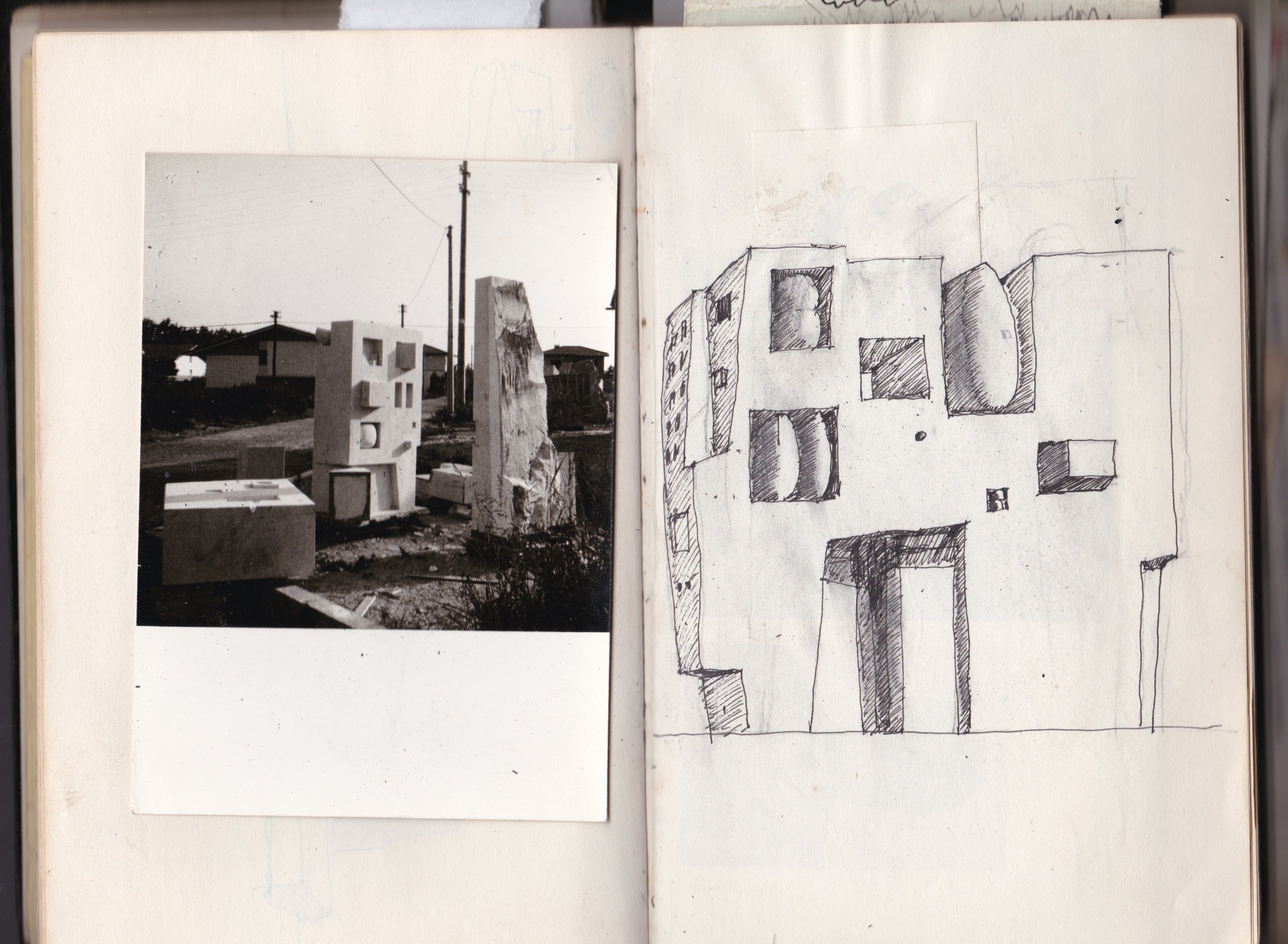Photo Sculpture Journal double spread, SB 1969-70-71.jpg