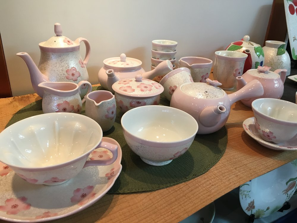 Arita Ceramic/Pottery Festival & Cafe Komorebi