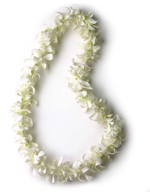 #4 Orchid Lei (*White or Pink)  $40 / $28 (For small kids)