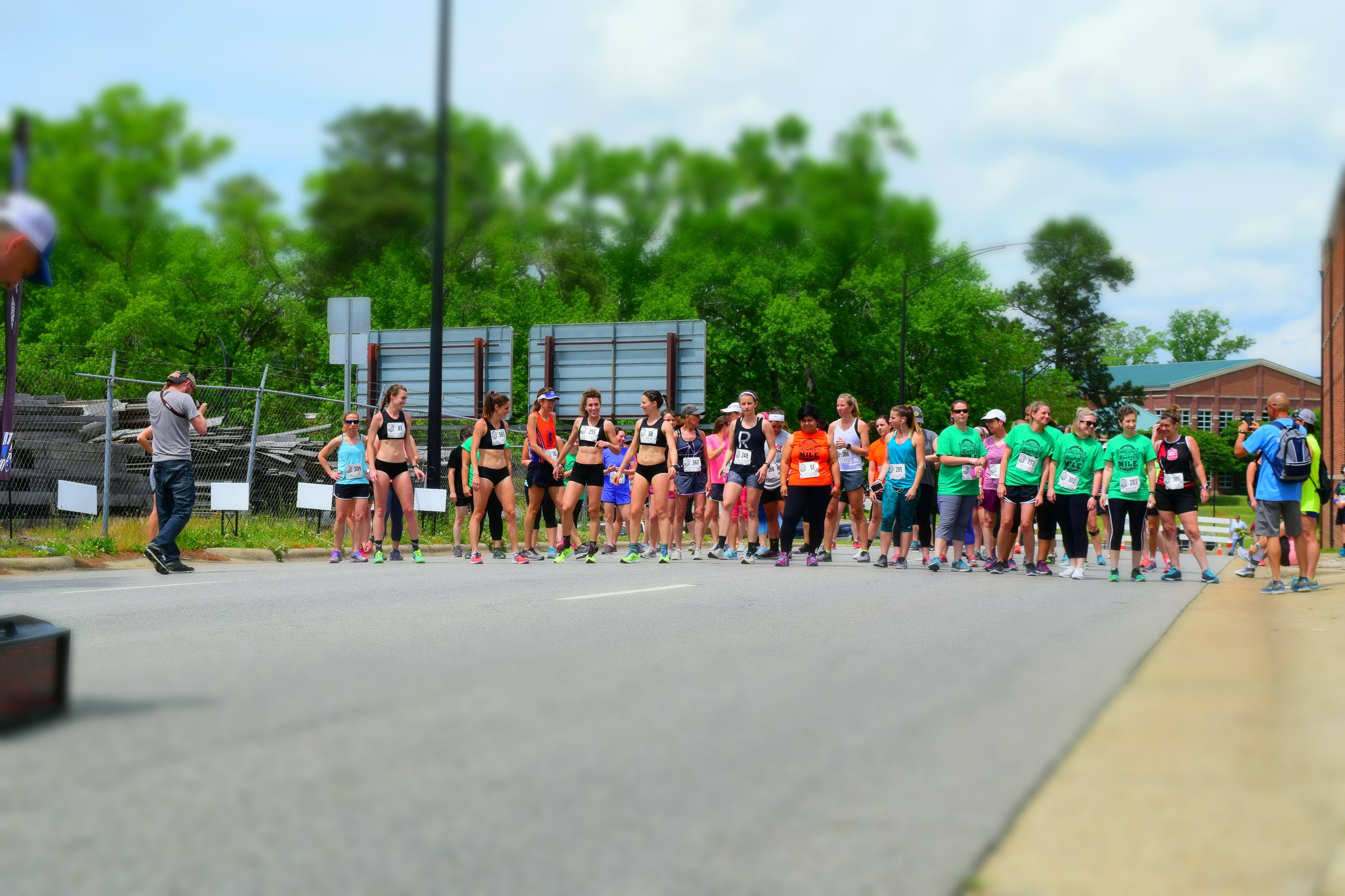 Keeping things fun at the starting line!
