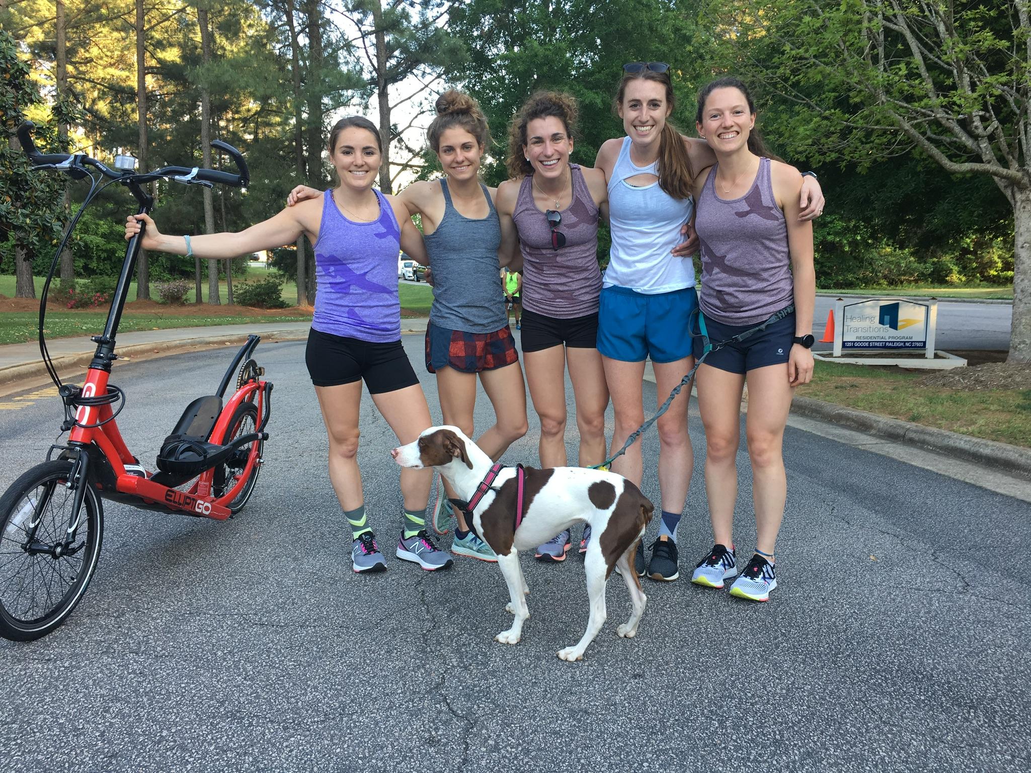 RDP at the Oak City Recovery Run Club 1-Year Anniversary