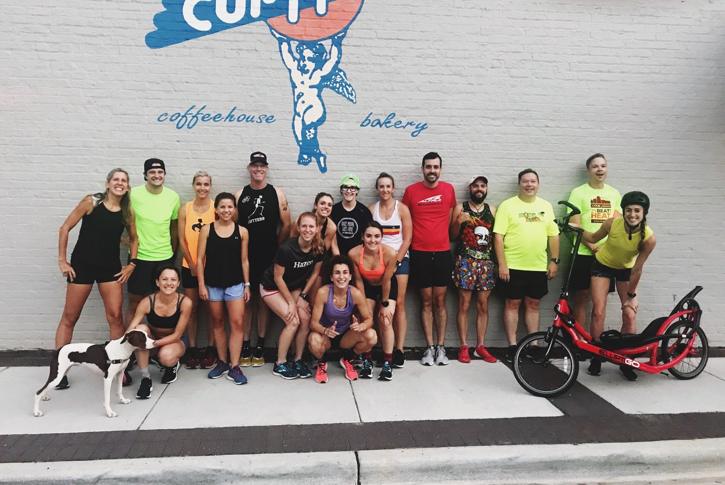 RDP Group Run at Cup a Joe
