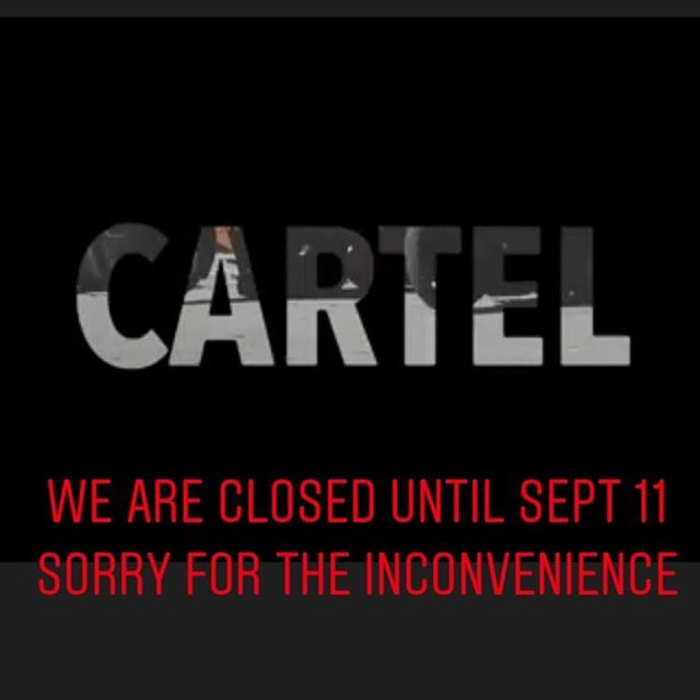 We'll be back September 11 ! Sorry for the inconvenience.