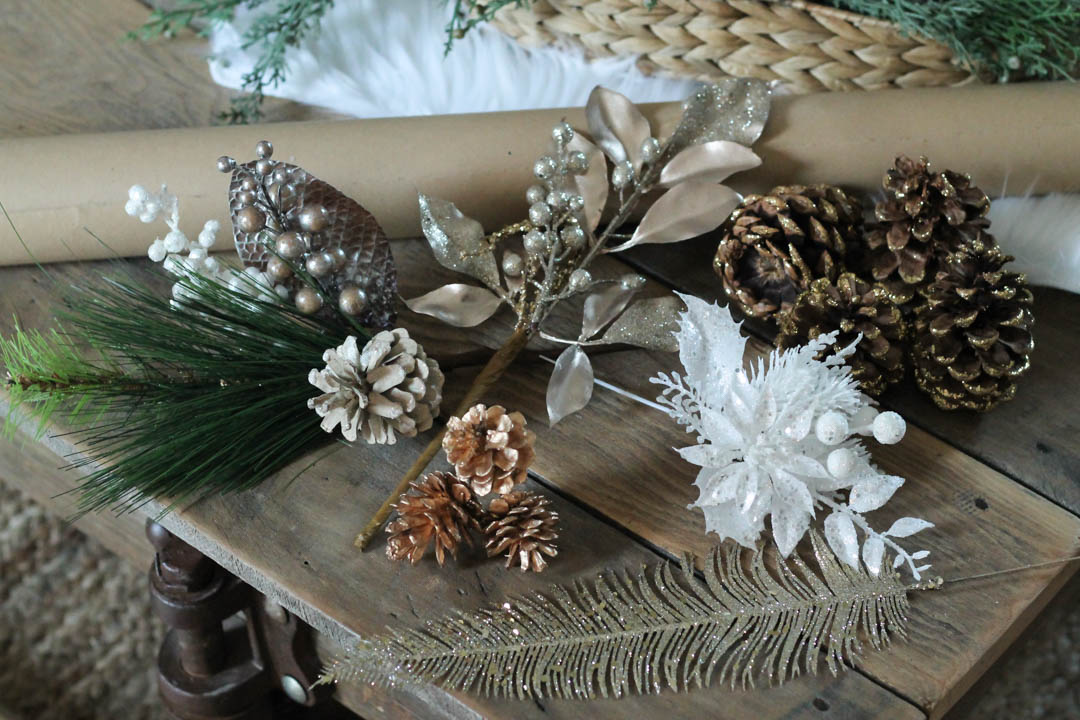 Floral Sprigs for Gift toppers