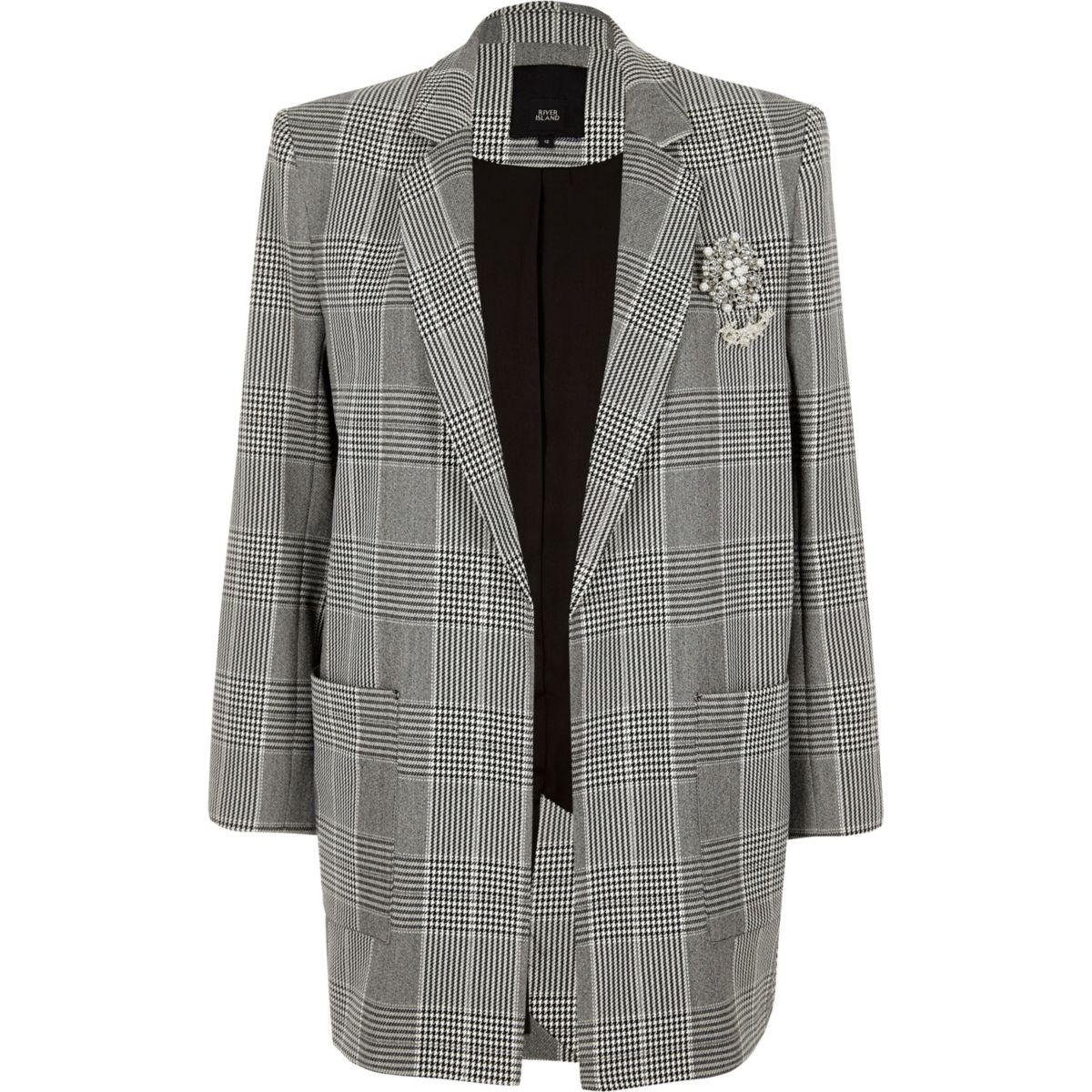 https://www.riverisland.com/p/black-check-brooch-oversized-blazer-711842