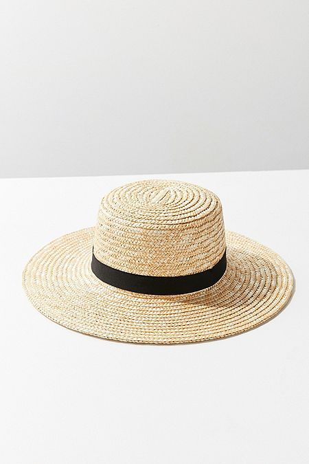 https://www.urbanoutfitters.com/shop/straw-ribbon-trim-boater-hat?category=SEARCHRESULTS&color=016