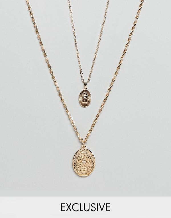 http://www.asos.com/reclaimed-vintage/reclaimed-vintage-inspired-double-layer-necklace-with-medallion-pendant-in-gold/prd/8900842?clr=gold&SearchQuery=layered%20necklace&gridcolumn=3&gridrow=3&gridsize=4&pge=1&pgesize=72&totalstyles=26