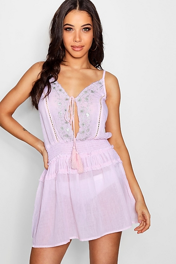 http://ca.boohoo.com/india-plunge-neck-mirror-embroidered-beach-dress/SZZ88840.html