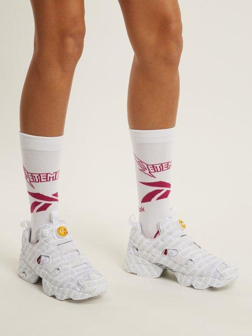 https://www.matchesfashion.com/intl/products/Vetements-X-Reebok-Metal-socks-1187421