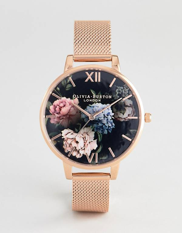 http://www.asos.com/au/olivia-burton/olivia-burton-ob16wg52-dark-bouquet-mesh-watch-in-rose-gold/prd/9275667?clr=rosegold&SearchQuery=&cid=4175&gridcolumn=1&gridrow=9&gridsize=4&pge=2&pgesize=72&totalstyles=215