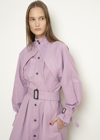 https://thefrankieshop.com/collections/new-arrivals/products/lavender-high-neck-belted-trench-coat
