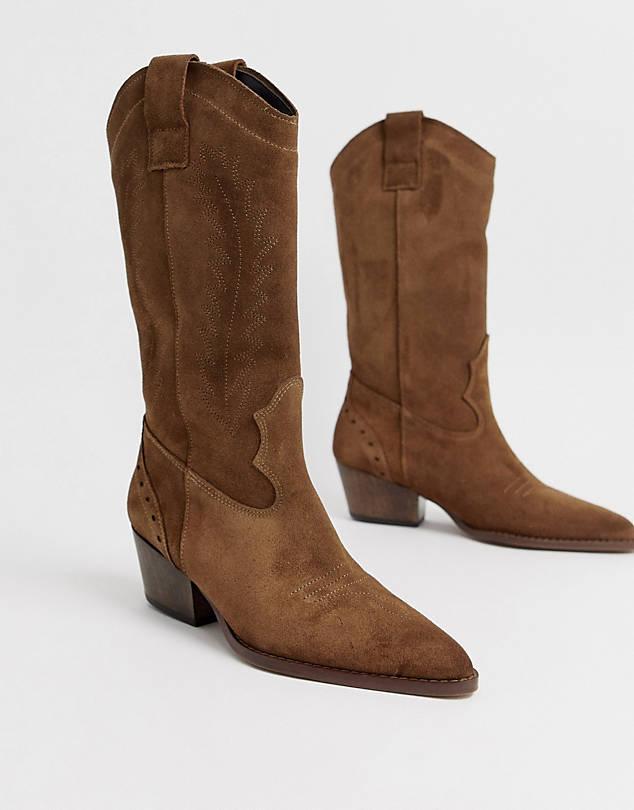 https://www.asos.com/depp/depp-tan-suede-knee-high-western-boots/prd/12571618?clr=tan-suede&colourWayId=16414948&SearchQuery=cowboy%20boots