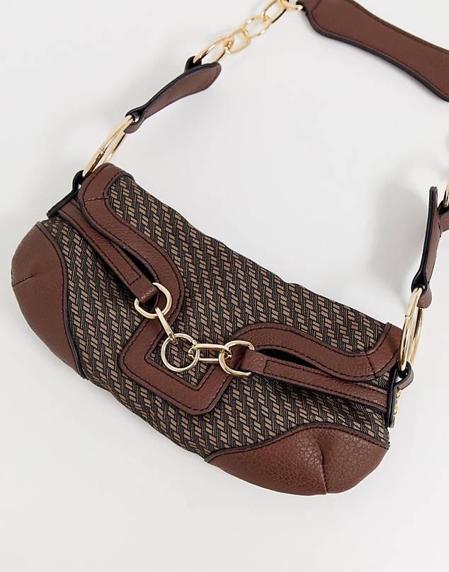 https://www.asos.com/asos-design/asos-design-90s-shoulder-bag-in-monogram-with-hardware-detail/prd/11251053?clr=brown&colourWayId=16328125&SearchQuery=shoulder%20bag