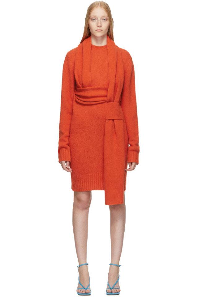 https://www.ssense.com/en-ca/women/product/bottega-veneta/orange-look-5-wool-sweater-dress/4349731