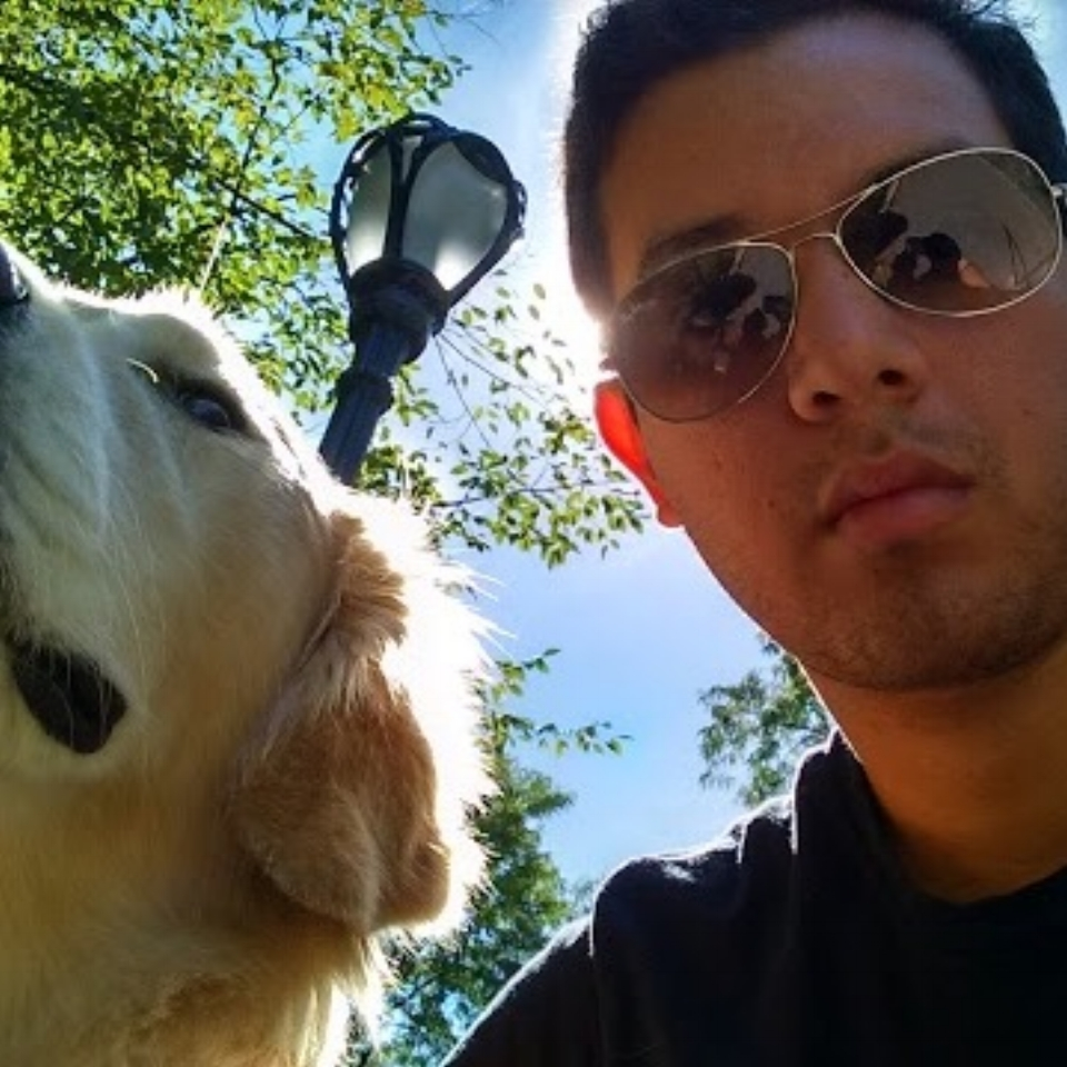 Xavier Chum   Xavier is a member of the U.S. National Guard who is pursuing a degree in physics from City College of New York. He joined Paw Paw at the beginning of 2017 with 2 years of dog walking experience.