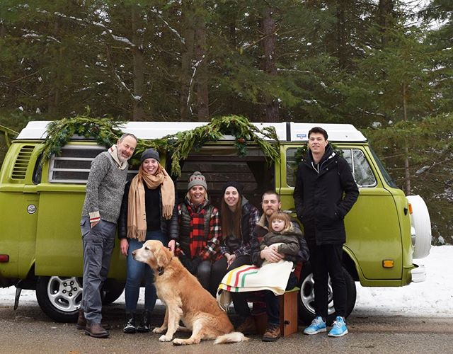 Merry Christmas & Happy Holidays from our fam to yours ❤️ . . . #christmas #christmas2018 #merrychristmas #happyholidays #happychristmas #vwbus #greenvw #homefortheholidays #wintercamping #winter #snow #travelbug #travelblogger #happycamper #classiccar #homeonwheels #getoutside #getoutstayout #advanture #vanlife #adventure #explore #neverstopexploring #vanlifemovement