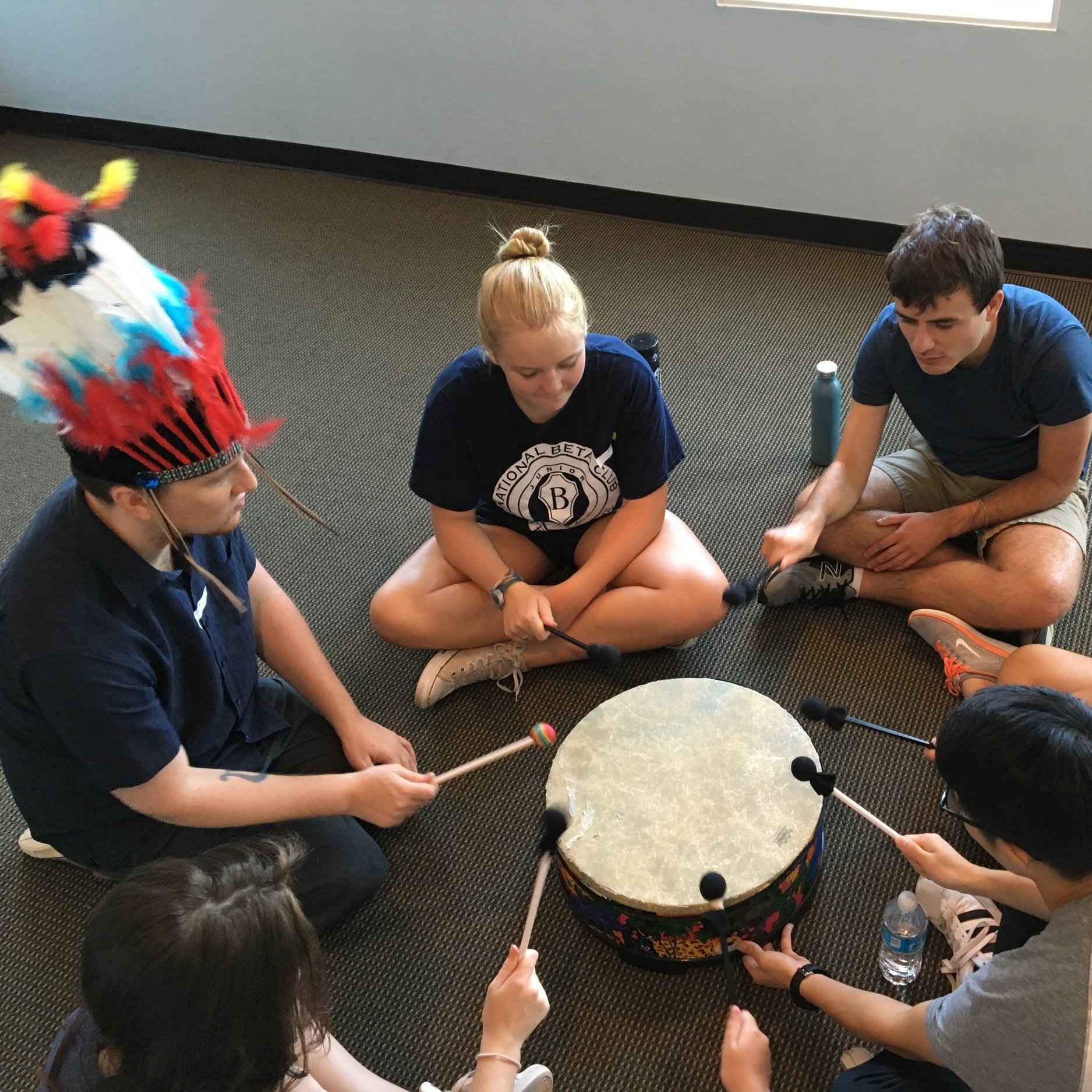 Camp CreARTive Drumming