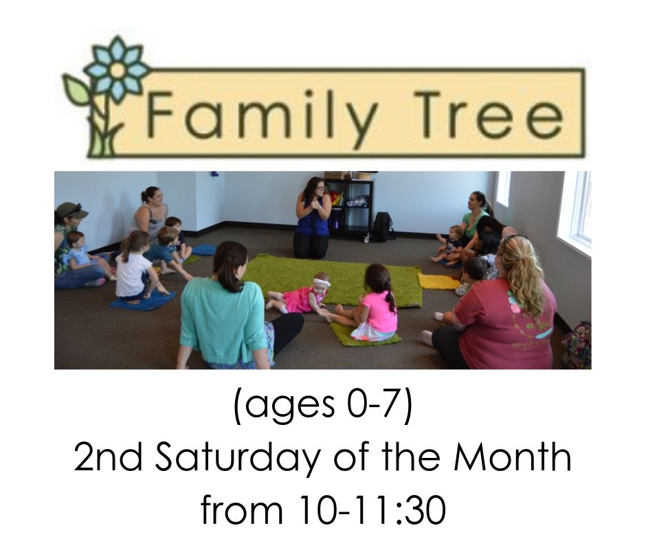 1:00-1:45pm - Family Class for children and their caretakers. Preview class is from 1:00-2:00pm on August 1st. Class meets the 2nd Saturday of the Month from 10-11:30. One demo class per family. Learn more by clicking here!
