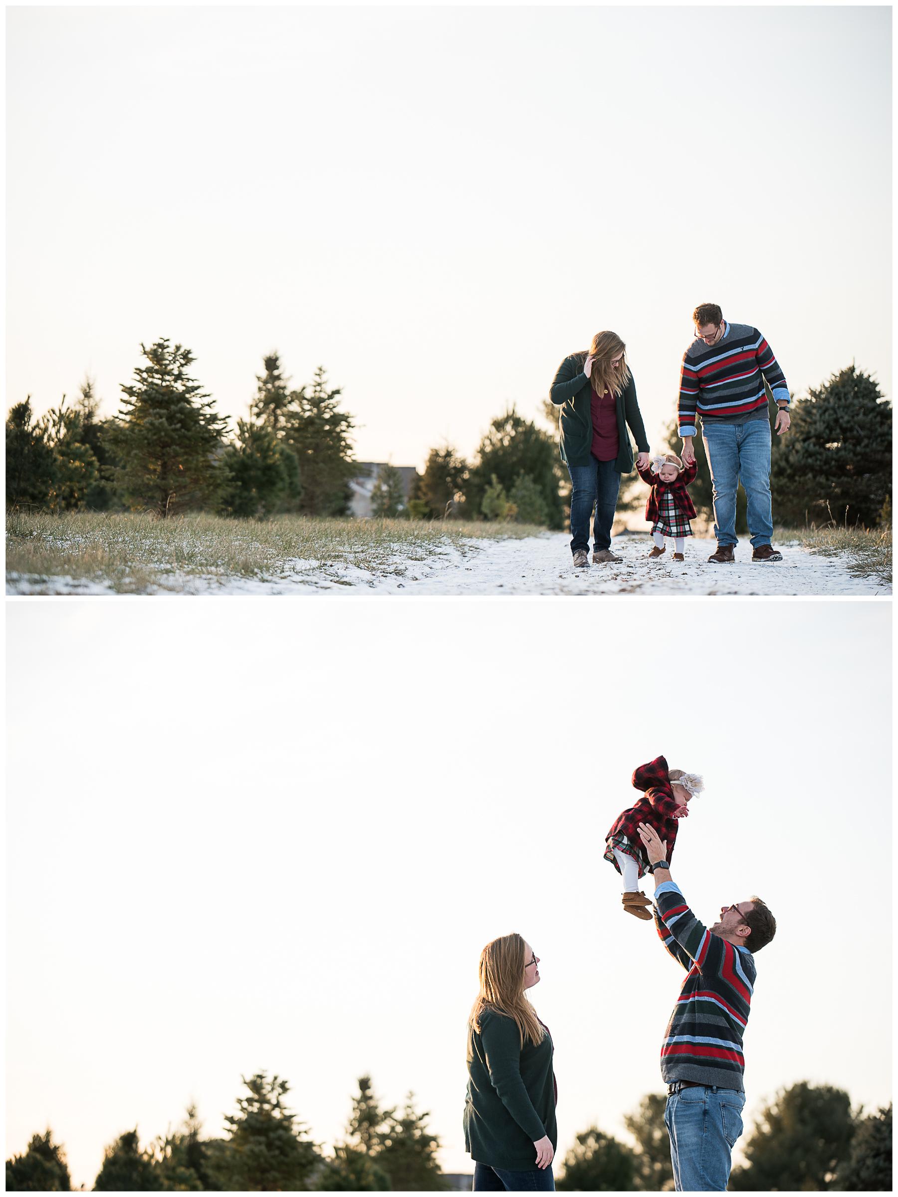 Bear Creative Company, Family Session, Mr. Tree Farm, Blacklick OH, Columbus OH Photographer