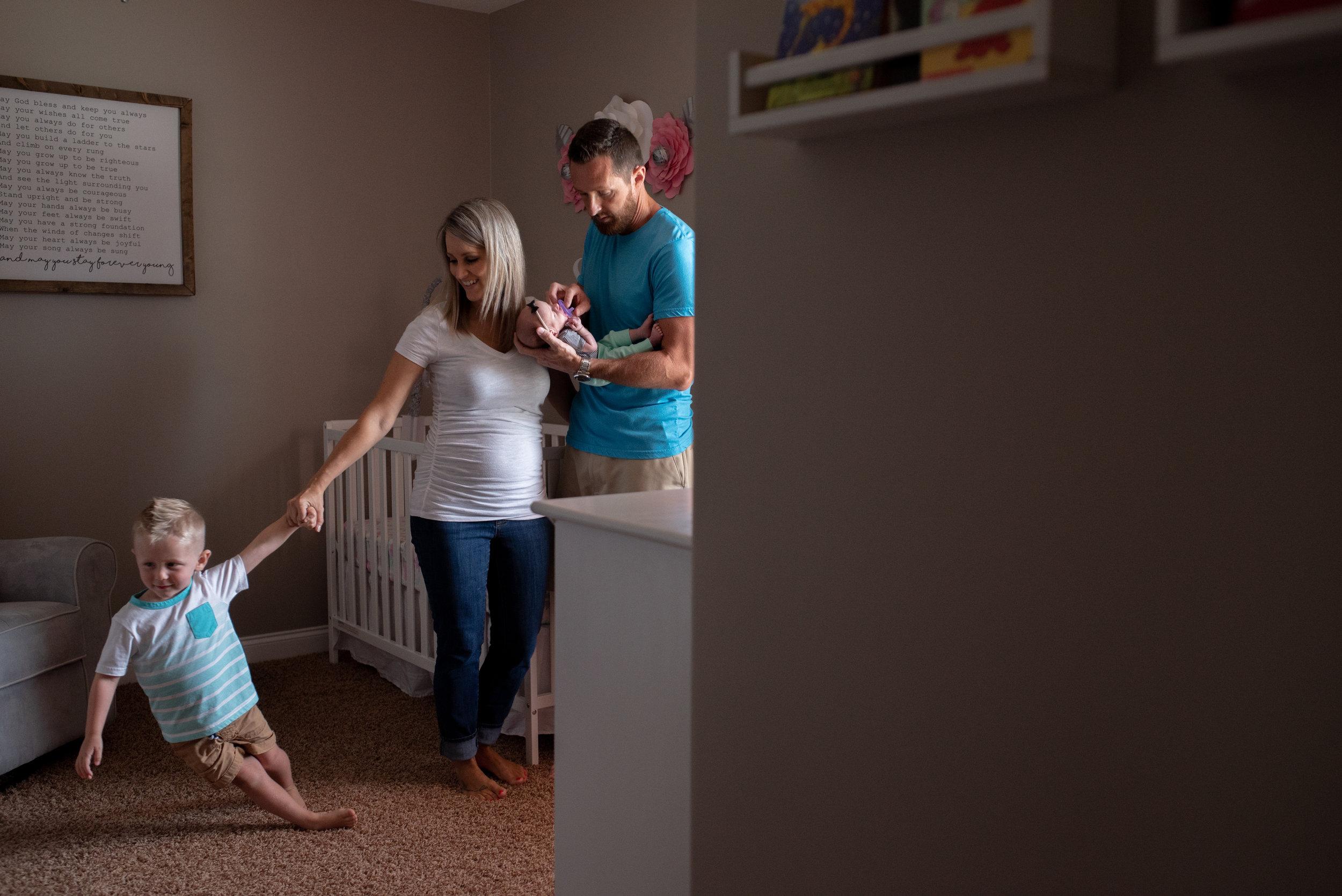 Bear Creative Company, Ohio Photographers, Lifestyle Session, Family Session, In Home Session, Columbus Ohio Photographers