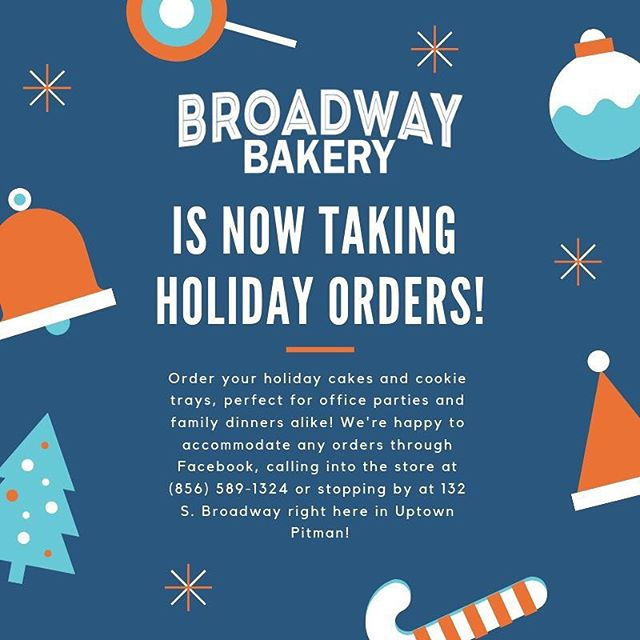We'll be open Monday, December 24th from 6a-12p to pick up all of your last minute orders and goodies! We look forward to helping you make the most wonderful time of the year a little bit sweeter. #shopsmall #shoplocal  #cookies #uptownpitman