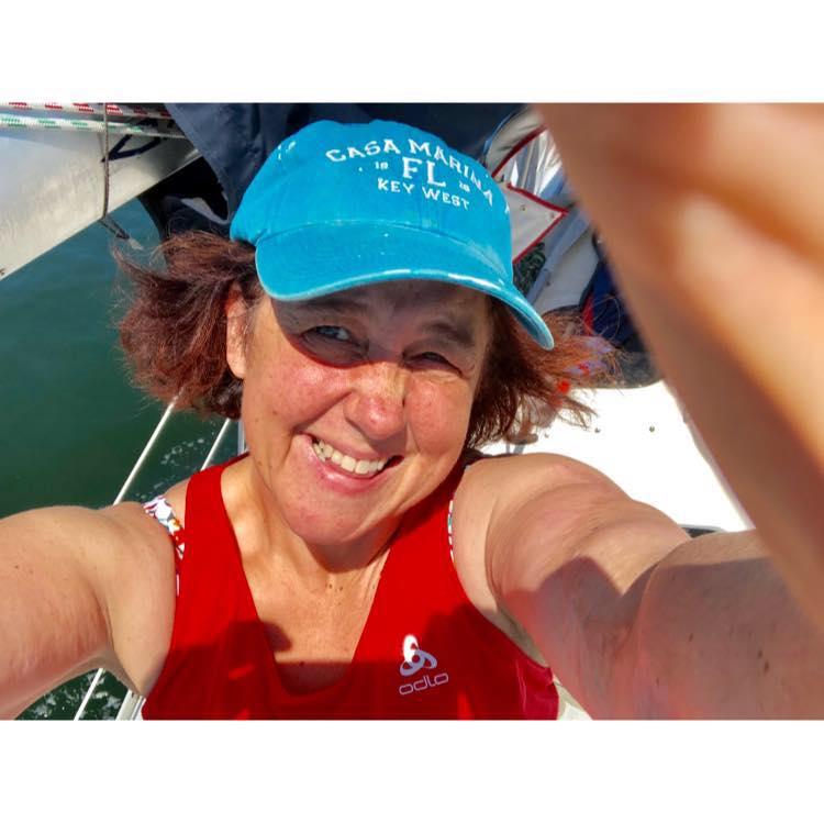 Sailing on  Dapple