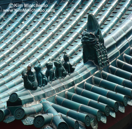 Roof Detail at Wong Tai Sin