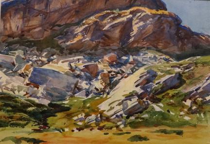 Simplon Pass: Crags