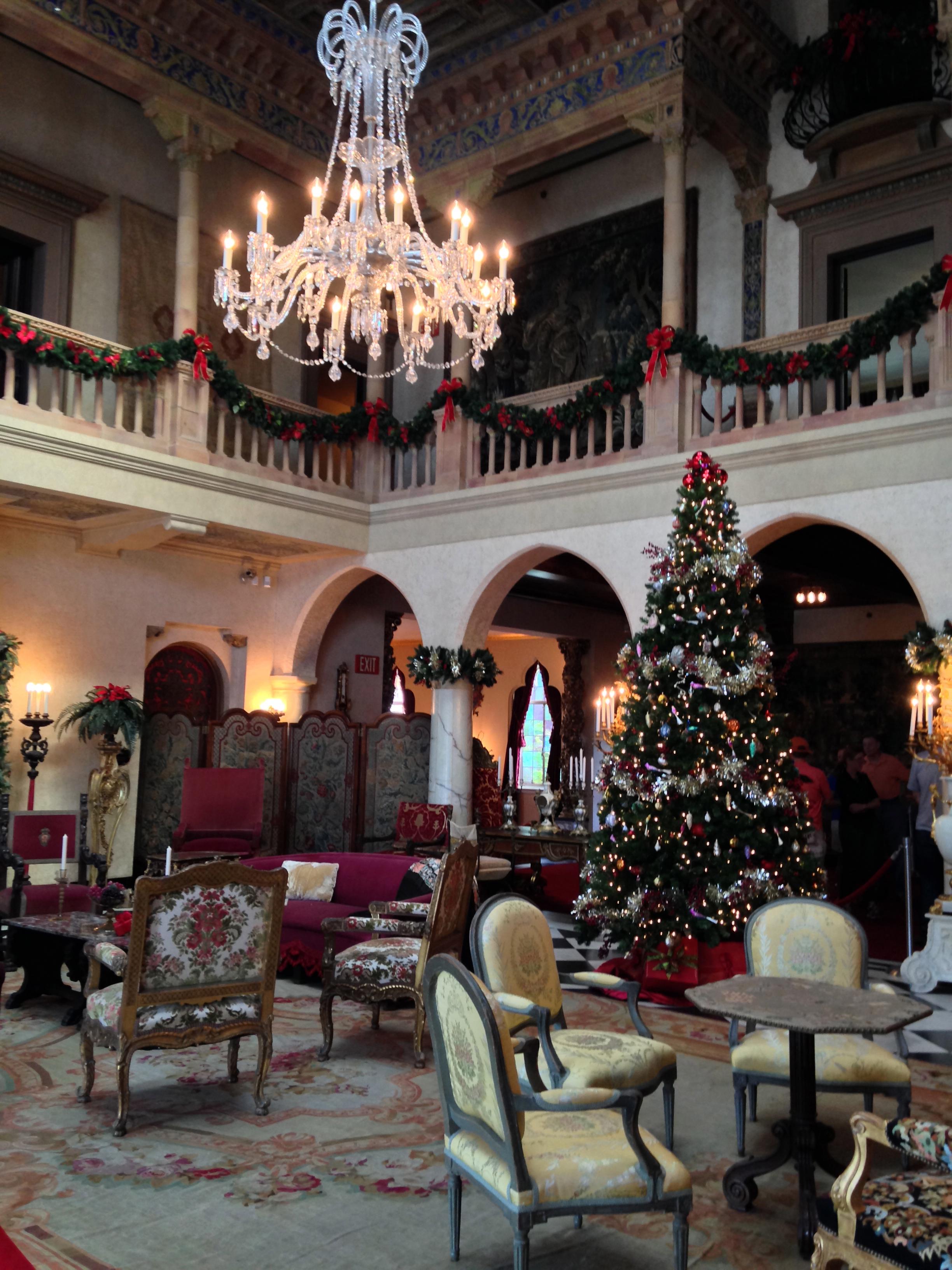 Living Room Ringling Mansion